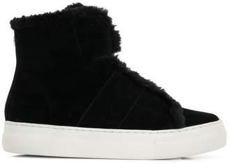 DKNY shearling boots
