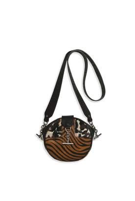Sonia Rykiel Mixed Fabric Olympia Bag