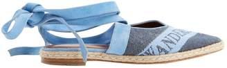 J.W.Anderson Blue Cloth Sandals