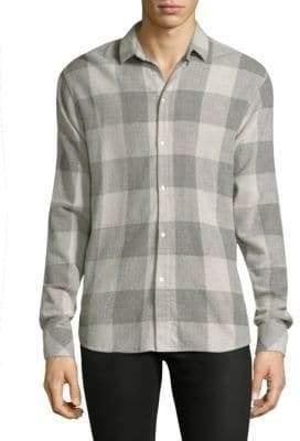 IRO Buffalo Cotton Casual Button-Down Shirt