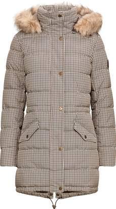 Ralph Lauren Houndstooth Quilted Jacket