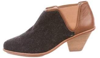 Matt Bernson Wool Ankle Boots