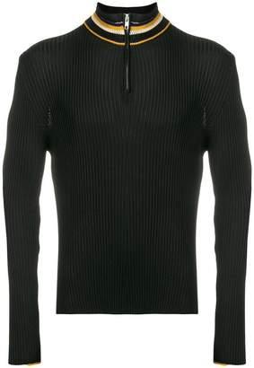 Wales Bonner ribbed turtleneck sweater