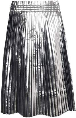 MM6 MAISON MARGIELA Paper Bag Waist Pleated Midi Skirt