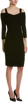 Shoshanna Wool-Blend Sheath Dress