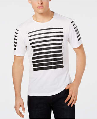 INC International Concepts I.n.c. Men's Stripe Graphic T-Shirt, Created for Macy's