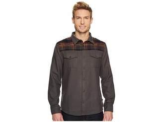 United By Blue Banff Plaid Yoke Wool Shirt Men's Clothing