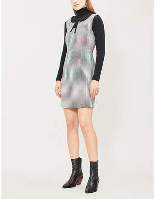 Claudie Pierlot Reflex houndstooth dress