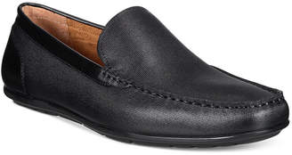 Alfani Men's Dan Leather Driver, Only at Macy's $79.99 thestylecure.com