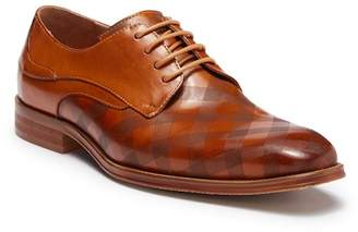 Steven Land Plaid Leather Derby dKKMp