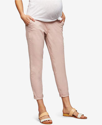 A Pea in the Pod Maternity Straight-Leg Ankle Pants