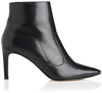 3a8d95e4cfc at LK Bennett · LK Bennett Anastasia Black Leather Ankle Boots