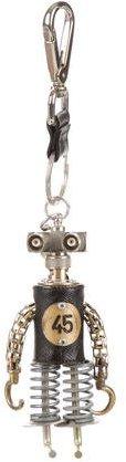 "pradaPrada Robot Edward Trick ""45"" Metal Bag Charm"
