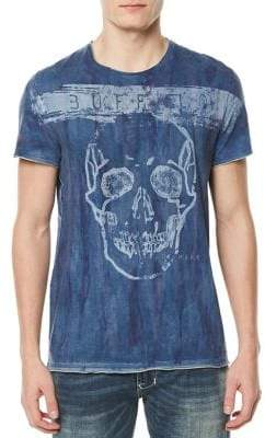 Buffalo David Bitton Tipaint Graphic Cotton T-Shirt
