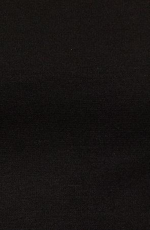 *MKL Collective The Ponte Crop Top in Black