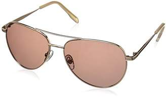 Foster Grant Women's Prelude Rose Pol Polarized Aviator Sunglasses