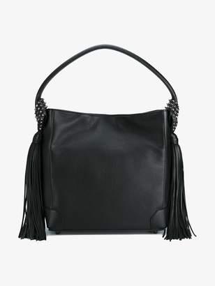 Christian Louboutin Black Eloise hobo Leather tote bag