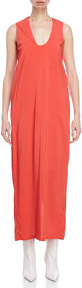 Liviana Conti Plunging Neckline Maxi Dress