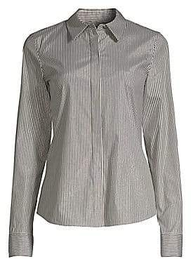 Lafayette 148 New York Women's Phaedra Button-Front Blouse