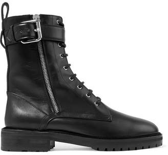 Tabitha Simmons Max Leather Ankle Boots - Black