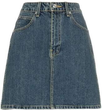 33df849901 Eve Denim Tallulah high-wasited denim mini skirt