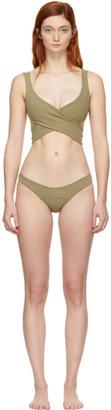 Lisa Marie Fernandez Green Marie-Louise Bikini