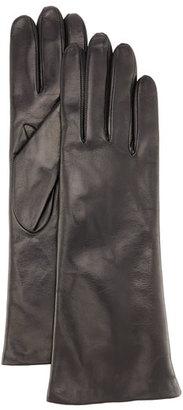 Portolano Napa Leather Gloves, Black $140 thestylecure.com