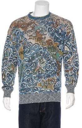 Missoni Patterned Crew Neck Sweater