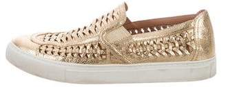 Tory Burch Huarache Slip-On Sneakers