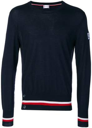 Moncler striped trim sweater