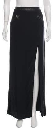 Rag & Bone Silk Maxi Slit Skirt