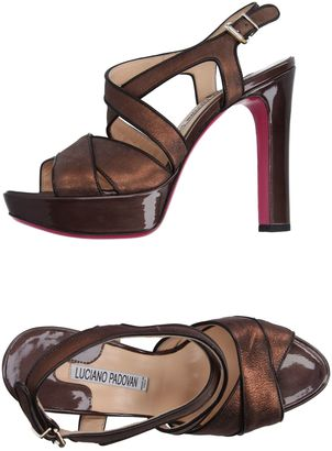 LUCIANO PADOVAN Sandals $329 thestylecure.com