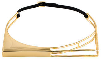 Alexis BittarAlexis Bittar Liquid Gold Architectural Choker Necklace