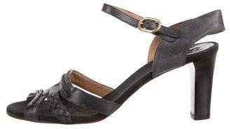 Chloé Leather Mary Jane Sandals