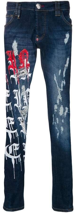 Crash Super Straight Cut jeans