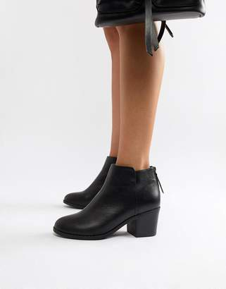 Office Heeled Ankle Boots