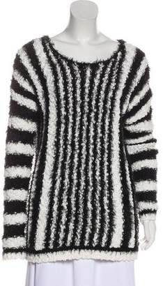 Yigal Azrouel Cut25 by Knit Long Sleeve Sweater