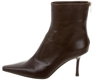 Jimmy Choo Jimmy Choo Leather Ankle Boots