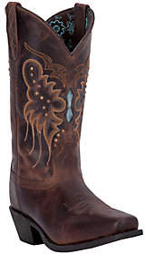 Laredo Leather Cowboy Boots - Cora