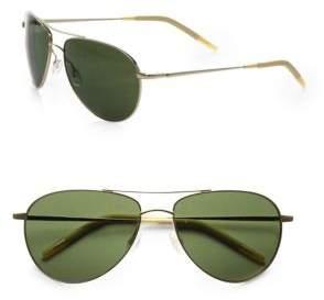 Oliver Peoples Benedict 59MM Aviator Sunglasses