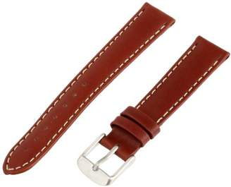 Momentum Women's ZC-16NAU Pathfinder 16mm Brown Nautica Leather Watch Strap