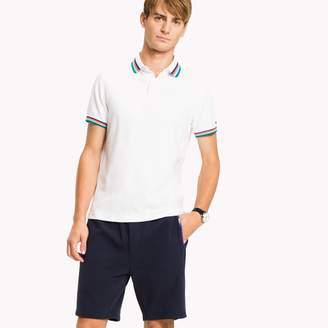 Tommy Hilfiger Color Tipped Slim Fit Polo