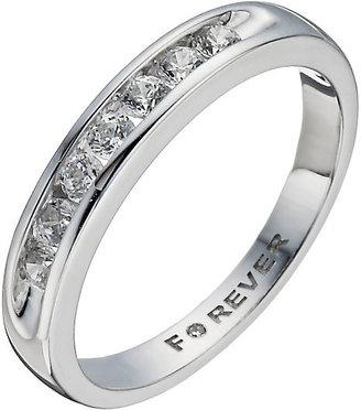 18ct White Gold 0.35 Carat Forever Diamond Ring