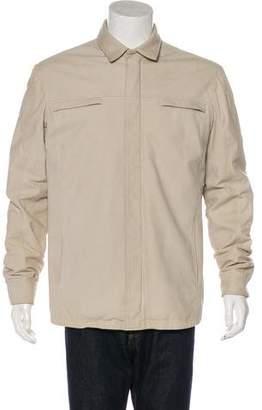 Loro Piana Leather Zip Jacket