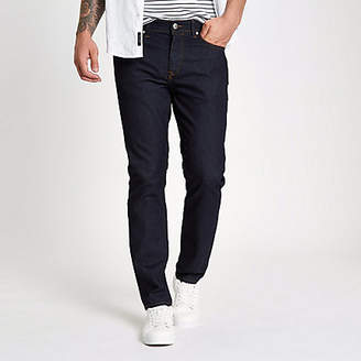 River Island Dark blue rinse Dylan slim fit jeans