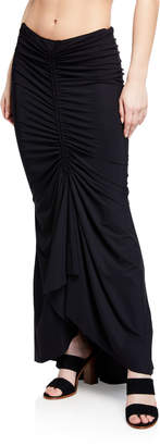 Chiara Boni Abel Ruched Mermaid Coverup Skirt