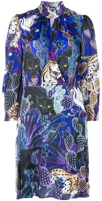 Just Cavalli colllage-print dress