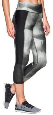 Under Armour Fly-By Printed Capri Leggings