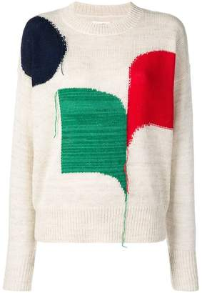 Etoile Isabel Marant colour-block sweater