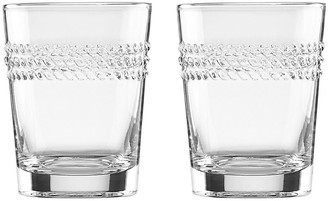 Kate Spade Set of 2 Wickford DOF Glasses - Clear